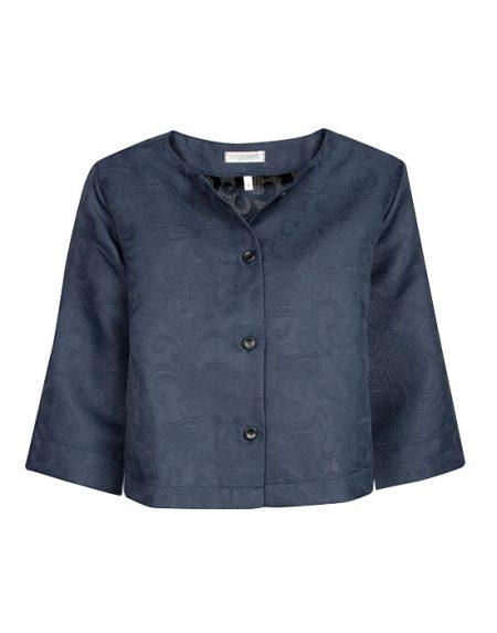[el}Damask devore πουκάμισο NaraCamicie