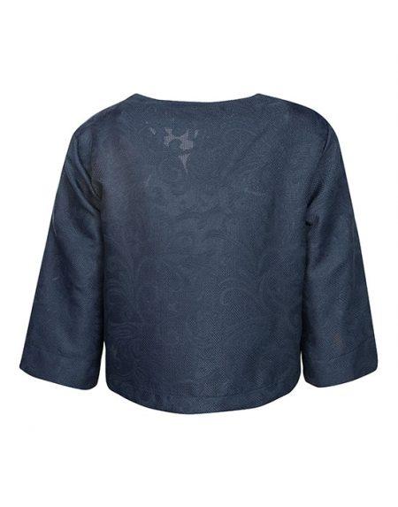 Damask devore πουκάμισο Nara Camicie