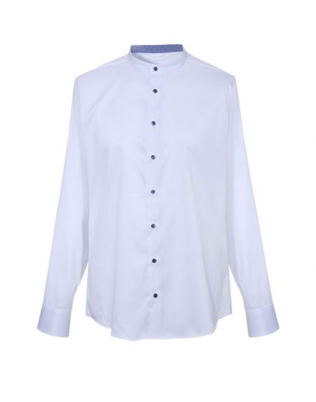 Mandarin collar men's shirt | Naracamicie