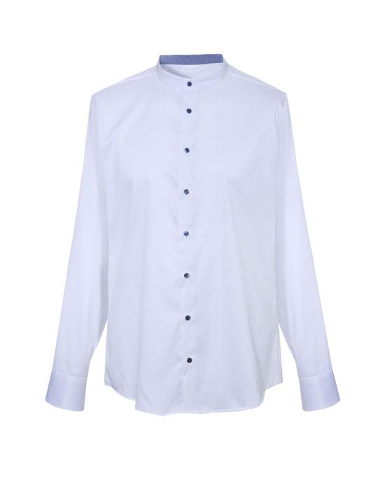 Mandarin collar ανδρικό πουκάμισο | Naracamicie