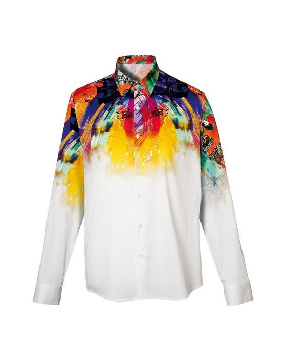 Tie-dye ανδρικό πουκάμισο   Naracamicie
