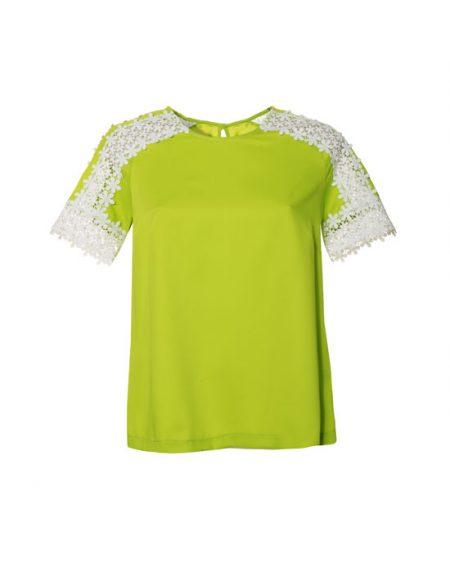 Γυναικεία crepe viscose μπλούζα | Naracamicie