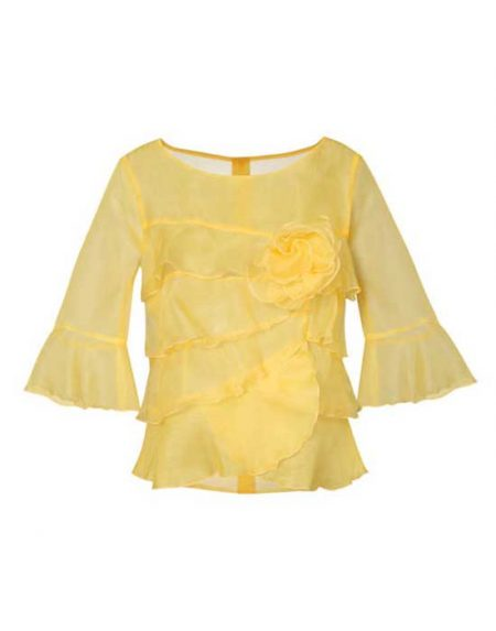 Women's silk organza blouse | Naracamicie