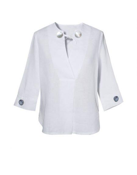 Γυναικεία oversize λινή tunic | Naracamicie
