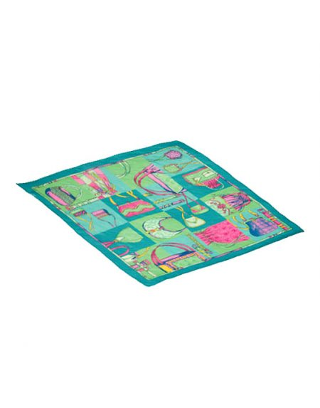Μικρό plisse foulard | Naracamicie