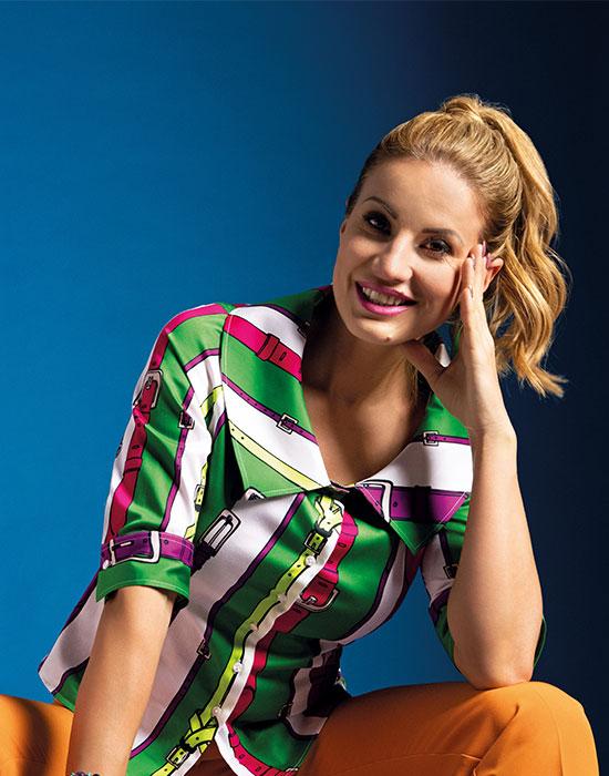 [el]Γυναικείο pointed flat πουκάμισο | Naracamicie[en]Women's pointed flat shirt | Naracamicie