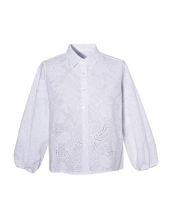 Γυναικείο πουκάμισο anglaise   Naracamicie