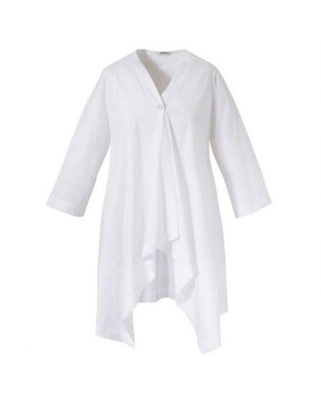 Ασύμμετρη μακρυά τουνικ Nara Camicie