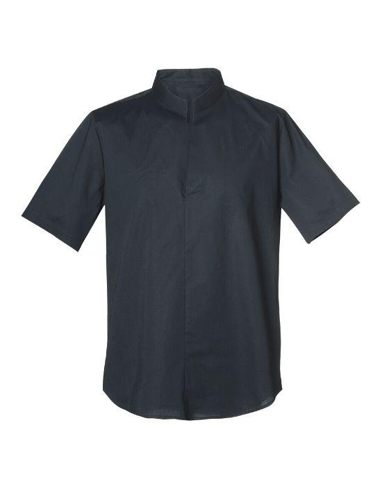 Mandarin collar ανδρικό polo Nara Camicie (2)