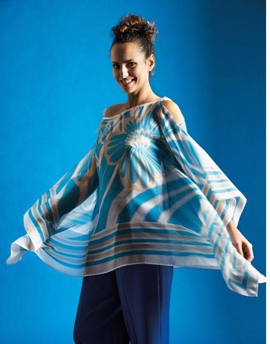 Γυναικεια floral stripe μπλουζα Nara Camicie