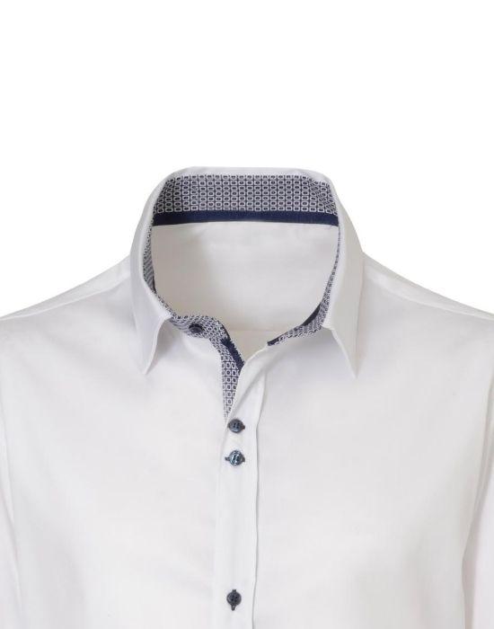 [el]Κλασικό oxford stretch πουκάμισο NaraCamicie [en]] classic oxford stretch man's shirt NaraCamicie
