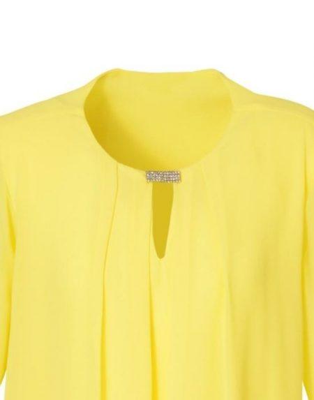 Μπλούζα με brooch clip NaraCamicie