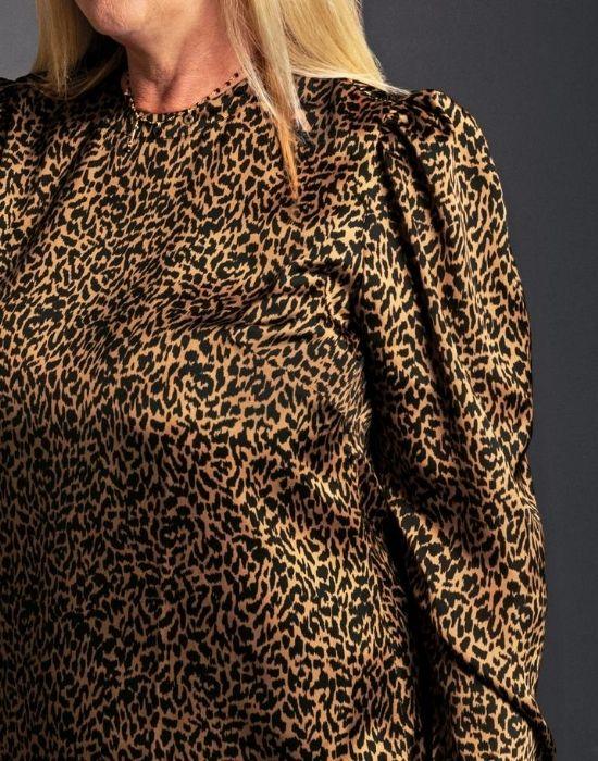 [el]Μπλούζα animalier Nara Camicie[en] Animalier blouse Nara Camicie