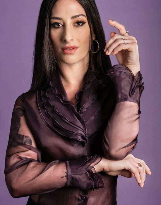 [el]Πουκάμισο σε μεταξωτή οργάντζα NaraCamicie [en] shirt in silk organza NaraCamicie