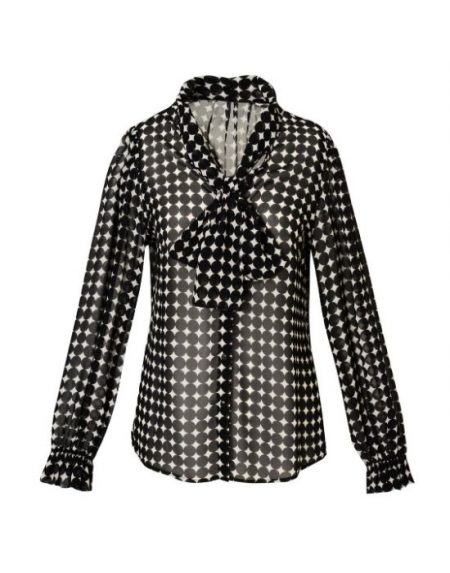 Bow tie collar shirt Nara Camicie