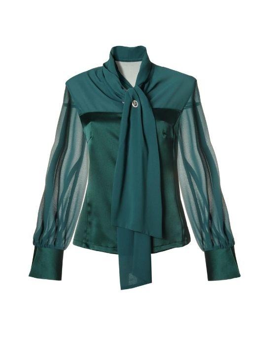 Corset πουκάμισο με σάρπα NaraCamicie