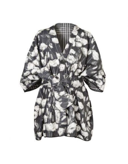 Double face coat kimono Nara Camicie