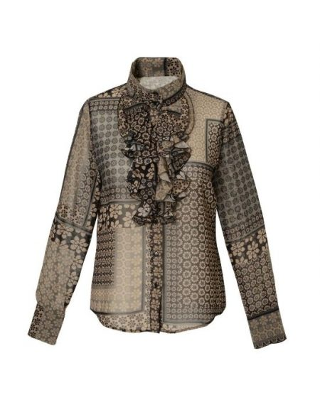 Floral patch print πουκάμισο Nara Camicie