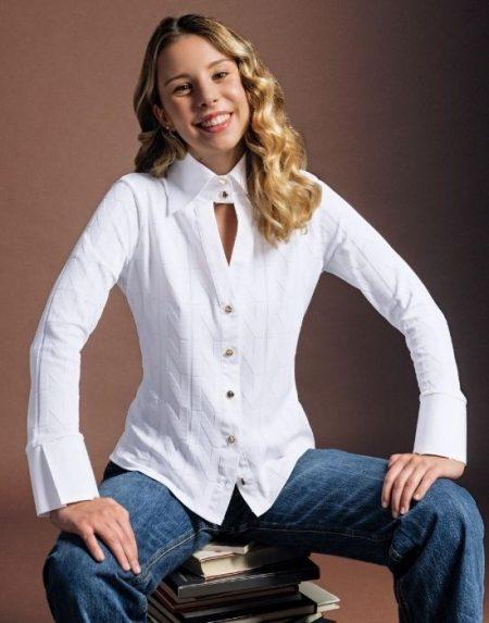 Meryl γυναικείο πουκάμισο NaraCamicie