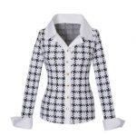 Meryl pied de coc πουκάμισο Nara Camicie