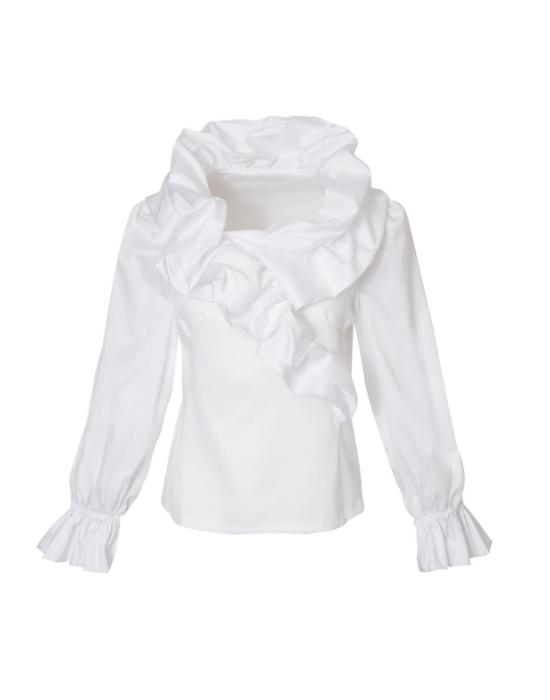 Nuvola βαμβακερή μπλούζα NaraCamicie
