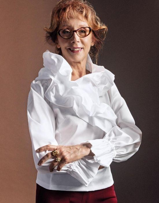 [el]Nuvola βαμβακερή μπλούζα NaraCamicie [en] Nuvola cotton blouse NaraCamicie