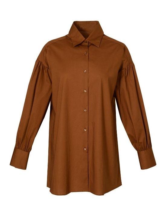 Oversize πουκάμισο-τουνίκ