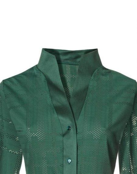 Perforated meryl πουκάμισο Nara Camicie T6856-FO8944