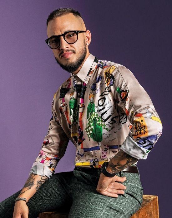 [el]Pop art digital print ανδρικό πουκάμισο NaraCamicie [en] ]Pop art digital print man shirt NaraCamicie