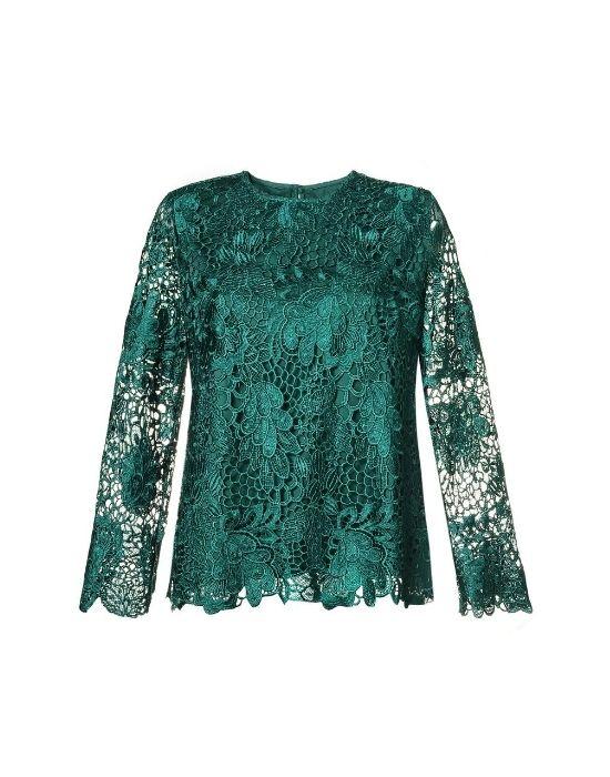 Overlaid δαντελένια μπλούζα NaraCamicie