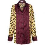 Πουκάμισο με zevre mix and match τύπωμα [en[ Shirt with  zevre mix and match print