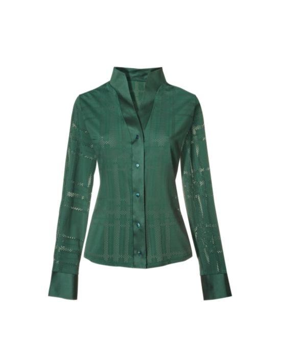 Perforated meryl πουκάμισο T6856-FO8944