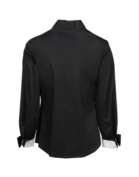[el] πουκαμισο με διχρωμα ruffle NaraCamicie [en] shirt with bicolor ruffle NaraCamicie