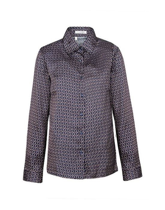 [el]Σατέν κλασικό πουκάμισο NaraCamicie [en] Satin classic style shirt NaraCamicie