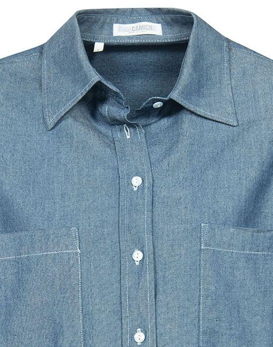 [el] denim γυναικείο πουκάμισο NaraCamicie[en] denim woman's shirt NaraCamicie