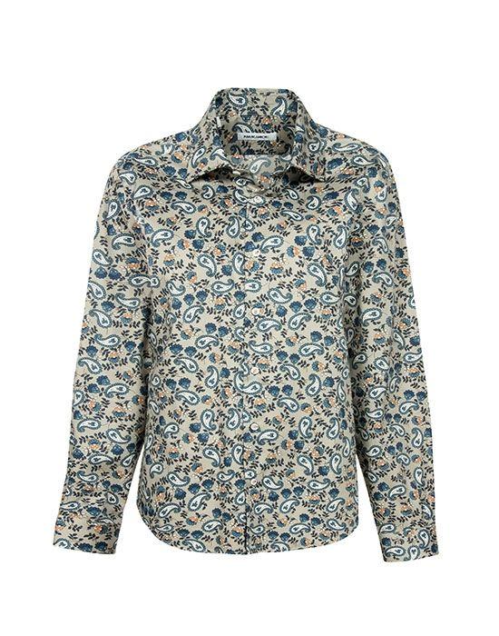 Paisley printed ανδρικό πουκάμισο NaraCanicie