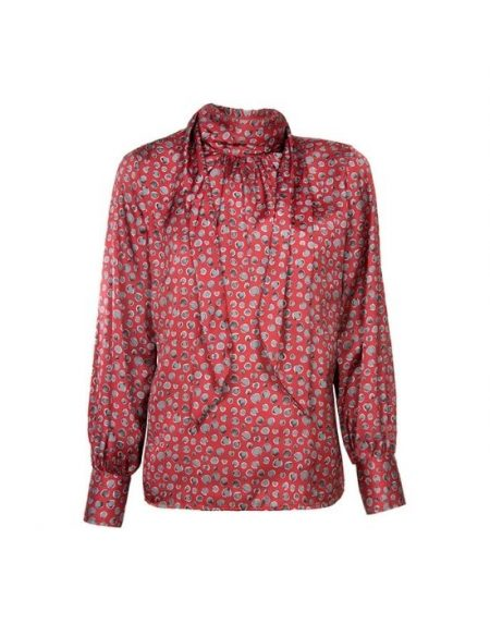 Γυναίκεια μπλούζα με δέσιμο στο λαιμό NaraCamicie