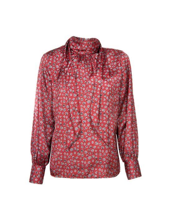 [el] Γυναίκεια μπλούζα με δέσιμο στο λαιμό NaraCamicie[en] Woman's tie neck blouse NaraCamicie