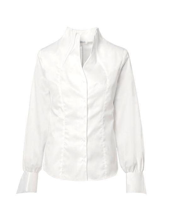 Γυναικείο πουκάμισο με διπλό stand up γιακά NaraCamicie
