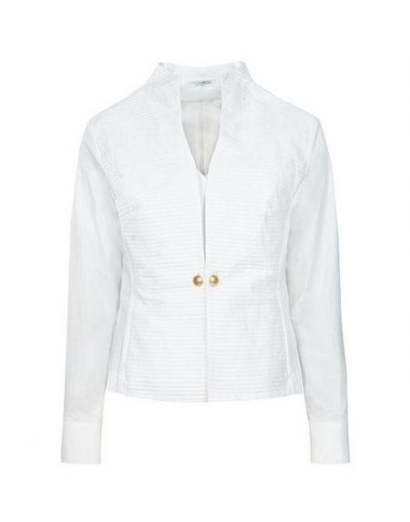 Γυναικείο πουκάμισο piegolina με stand up γιακά NaraCamicie
