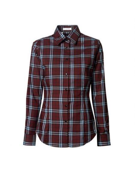 Plaid γυναικείο πουκάμισο NaraCamicie