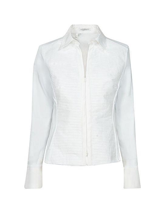 Γυναικείο πουκάμισο piegolina με φερμουάρ NaraCamicie