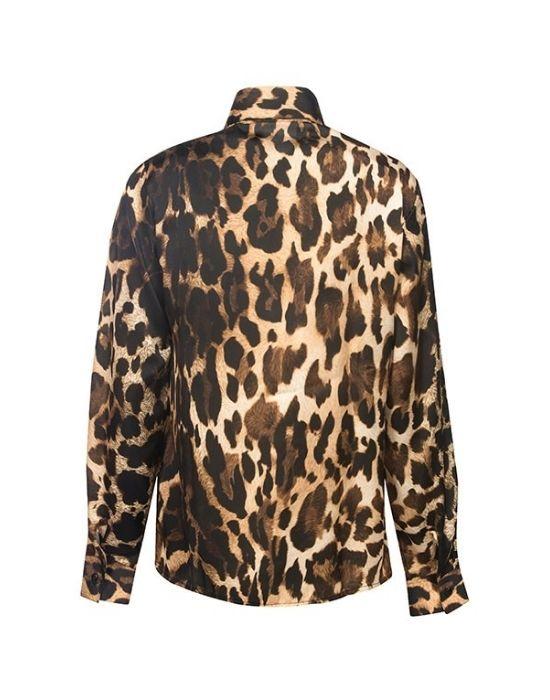 [el] Κλασικό γυναικείο πουκάμισο Animalier NaraCamicie