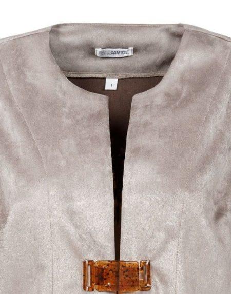 Gilet alcantara Nara Camicie T6784-DO8873