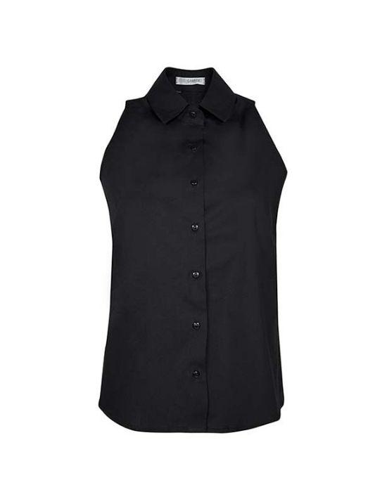 Cold shoulder πουκάμισο με βολάν στην πλάτη NaraCamicie-YOOO3-DO8712