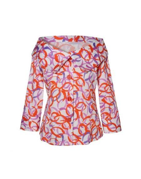 Ανάλαφρο cotton poplin πουκάμισο NaraCamicie T6960-FO9079