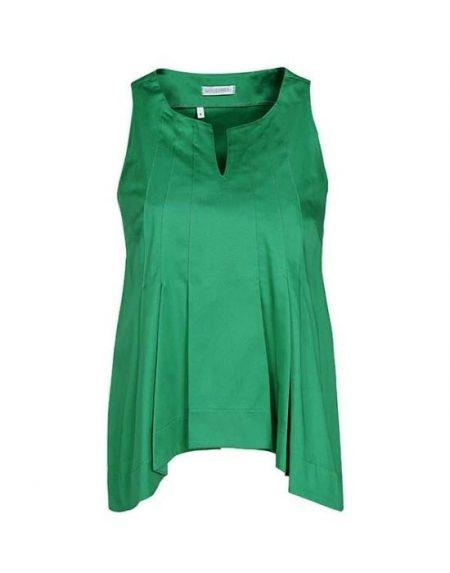 Ασύμμετρη cold shoulder μπλούζα NaraCamicie-T3449-DO8774