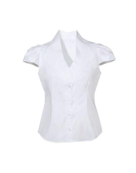 Cup sleeve πουκάμισο NaraCamicie T3449-DO9048