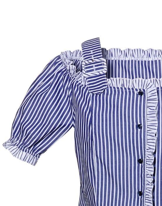 Feminine chic cut πουκάμισο NaraCamicie T6909-DO9002