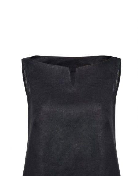Γυναικεια λινη μπλουζα σε γραμμη Α  NaraCamicie